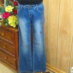 South pole flare jeans